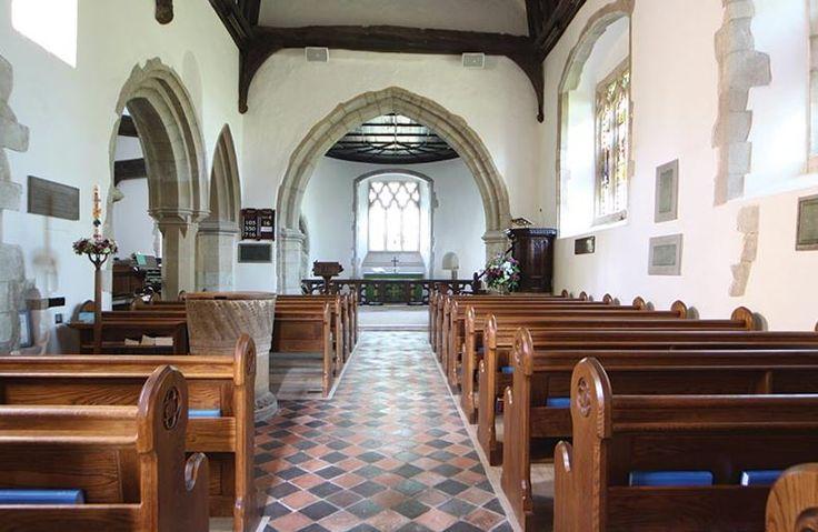 Church pews ICS designed in St. James' Church, Finchampstead, UK