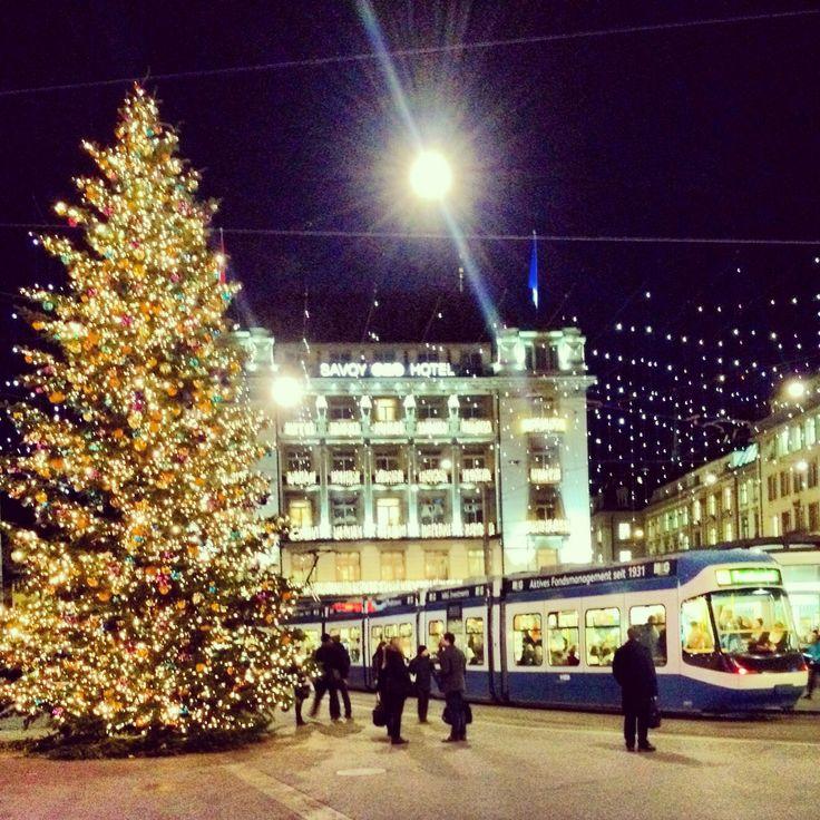 Christmas in Zurich - Paradeplatz