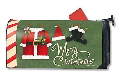 Santa suit #christmas magnetic mailbox #cover #holiday standard mailwraps,  View more on the LINK: http://www.zeppy.io/product/gb/2/181816105963/