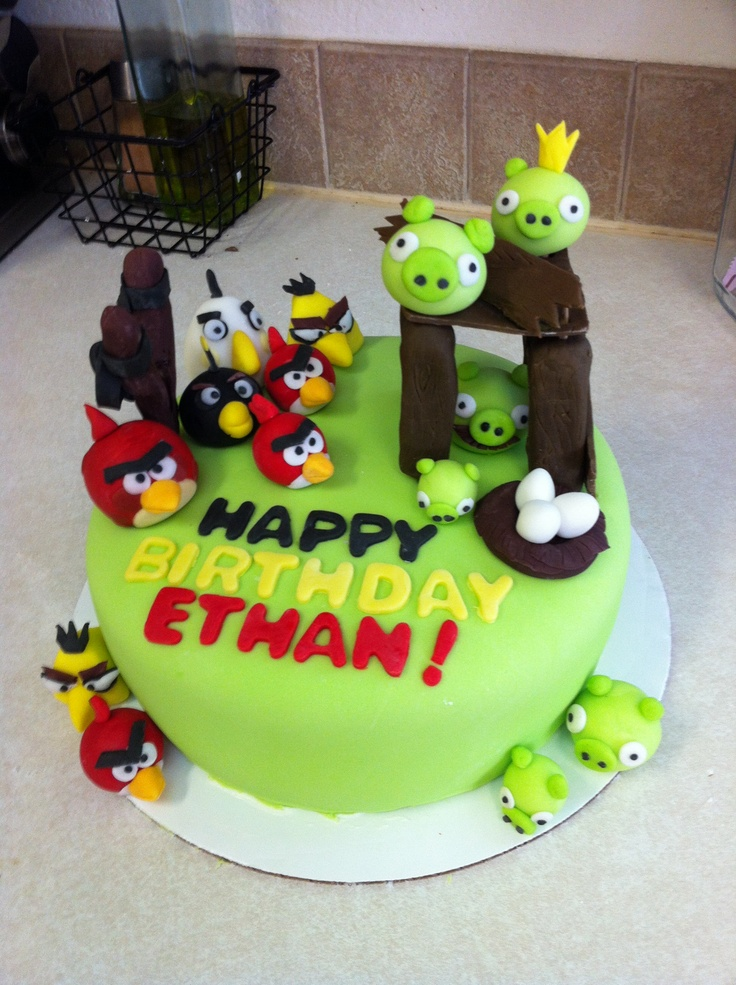 Cake With Fondant Bird : 43 best images about I made this! on Pinterest Birthday ...