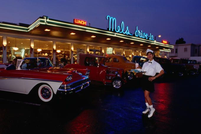 17 best images about diners dinners and foods of the past for 50 s diner exterior