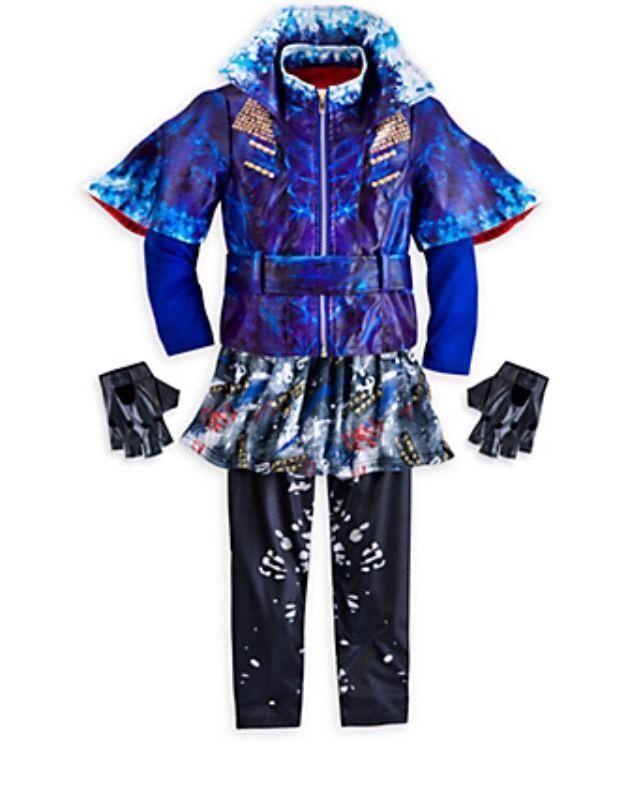 Disney Store Descendants EVIE Multi Color Cosutme Girls jacket dress up Size 5/6 #Disney #Dress