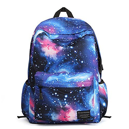 Aktion MH Series Unisex-Adult Universe Blue Nylon Casual Daypack - Click image twice for more info - See a larger selection of casual backpacks at http://kidsbackpackstore.com/product-category/kids-casual-backpacks/ - kids, kids backpack, school backpack, everyday backpack, school bag, gift ideas, teens backpacks.
