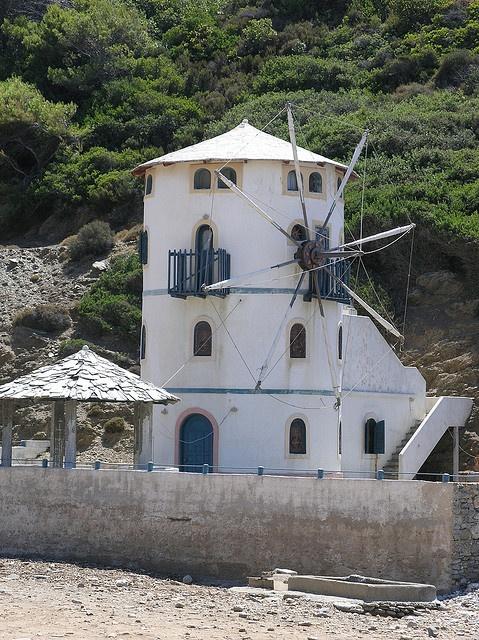 Tsoukalia Windmill, Alonissos, Greece