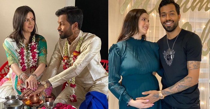 Hardik Pandya And Natasa Stankovic To Become Proud Parents The Couple Share Wedding Photo In 2020 Wedding Photo Sharing Becoming A Father Happy Married Life