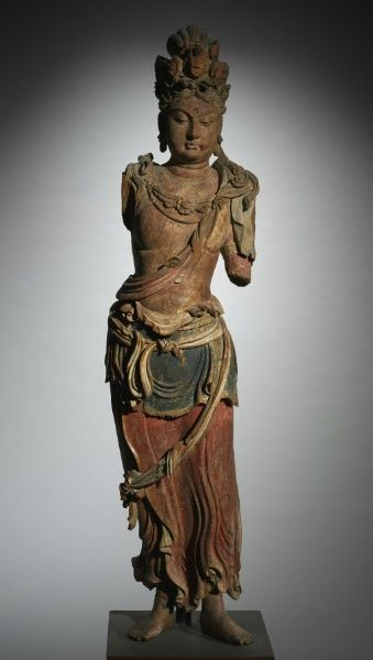 Eleven-Headed Guanyin, 1100-1200, China, late Northern Song dynasty-Jin dynasty