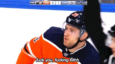 Leon, taking lessons from Connor, perhaps? Boy the Oilers and Flyers hate each other.