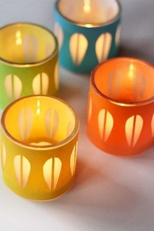 Catherine Holm-Style Candleholders | 19 Mid-Century Modern DIYs That Will Save You Tons Of Money