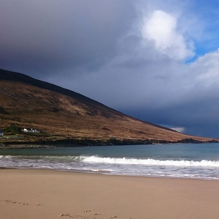 All 4 seasons in 1 day. West of Ireland, Achill Island. Home of cosy,stylish fleeces for all the family.