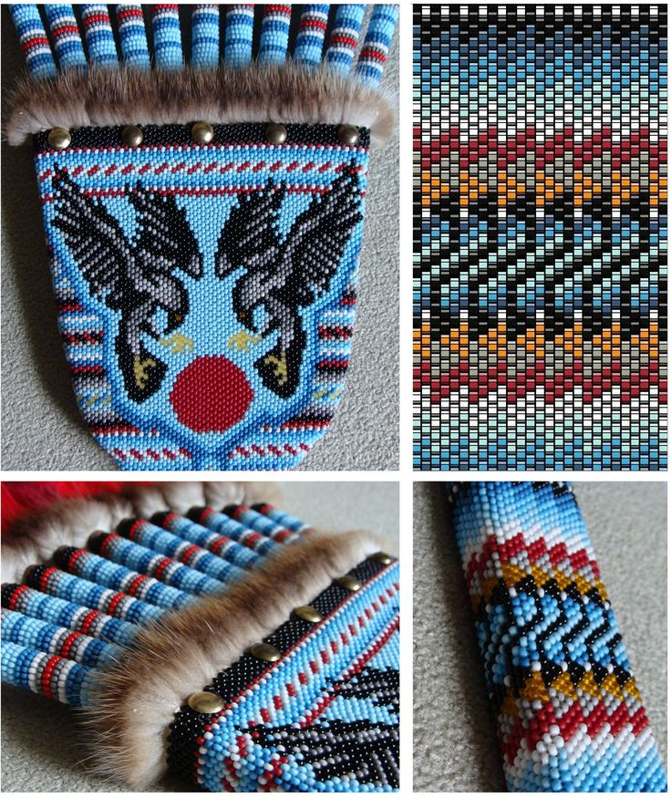 615 Best Peyote Feather Fans Images On Pinterest Feather