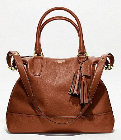 COACH LEGACY LEATHER RORY SATCHEL #Dillards    Christmas???