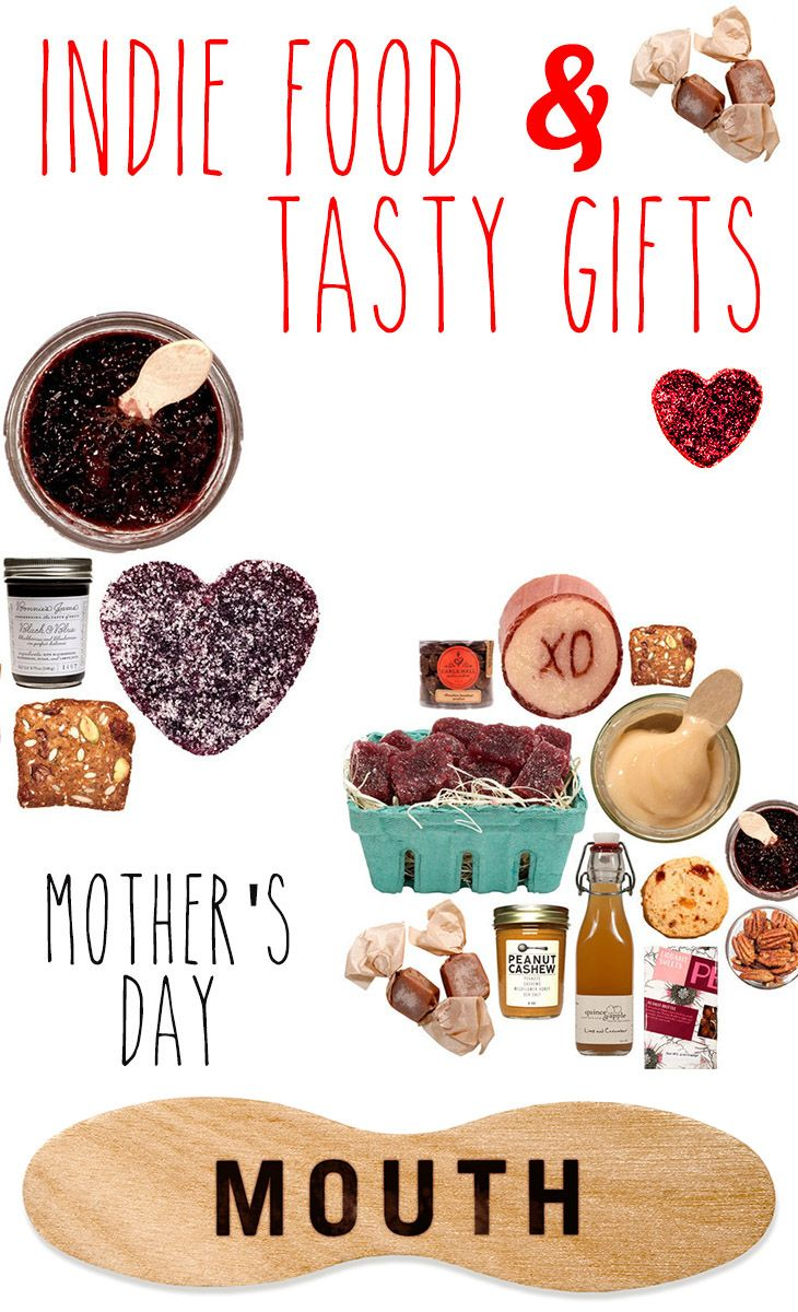 Give mom these tasty treats…in a bag! All indie Mother's Day gifts now 20% off through 5/11 with code HAPPYMOM20