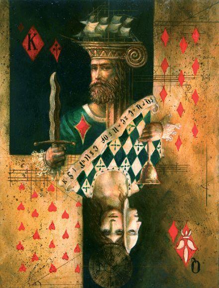 Игральные карты на картинах художников