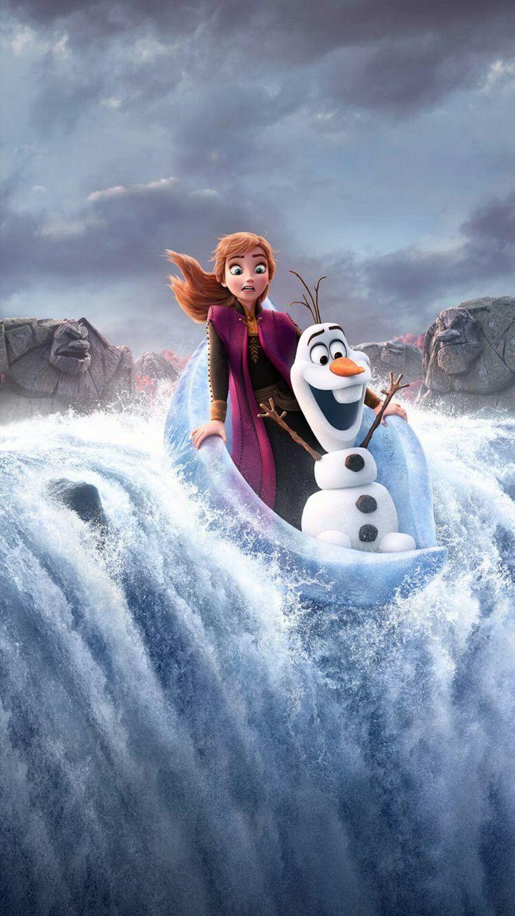 Frozen 2 (2019) Phone Wallpaper Rajzfilm, Disney rajzok