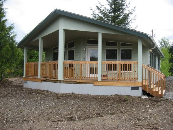 Porch designs for mobile homes joy studio design gallery for Mobile home plans with porches