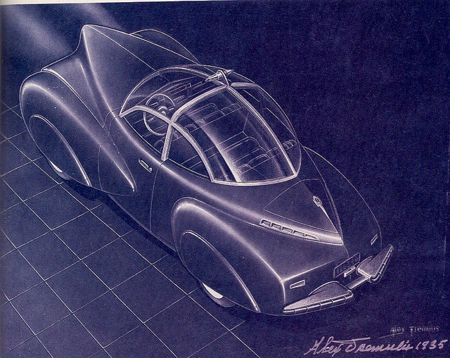 1935 Bubble Top Car