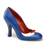 $47.  these will look so cute with my new swimsuit!: Funky Shoes, Blue Heel Shoes, Couture Shoes, Tuxedo Blue, Dance Shoes, Blue Heels, Vintage Shoes, Shoes 45 98, Shoes Smitten