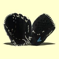 """The 2017 Easton Stealth Pro 12.5"""" Fastpitch Softball Glove (STFP1250BKWH) features a traditional woven web with a deep pocket perfect for those elite softball players out there. Check out this glove and other Easton softball gloves over at JustBallGloves. We offer free shipping AND a 100 day money-back guarantee."""