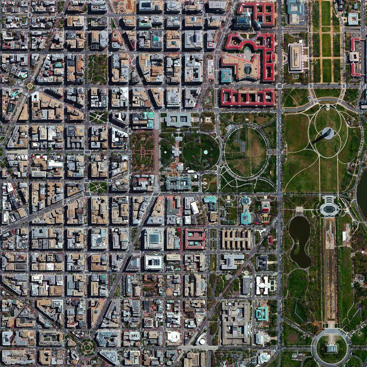 Washington DC Satellite image selected by Benjamin