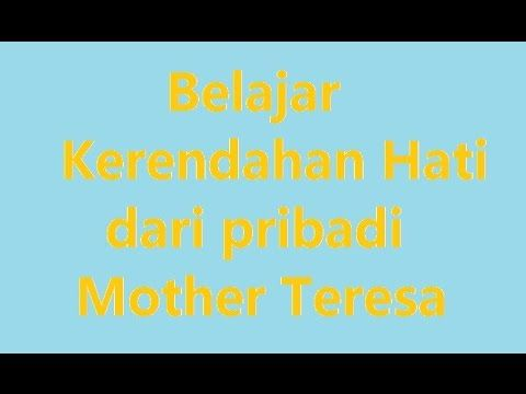 Kerendahan Hati Mother Teresa