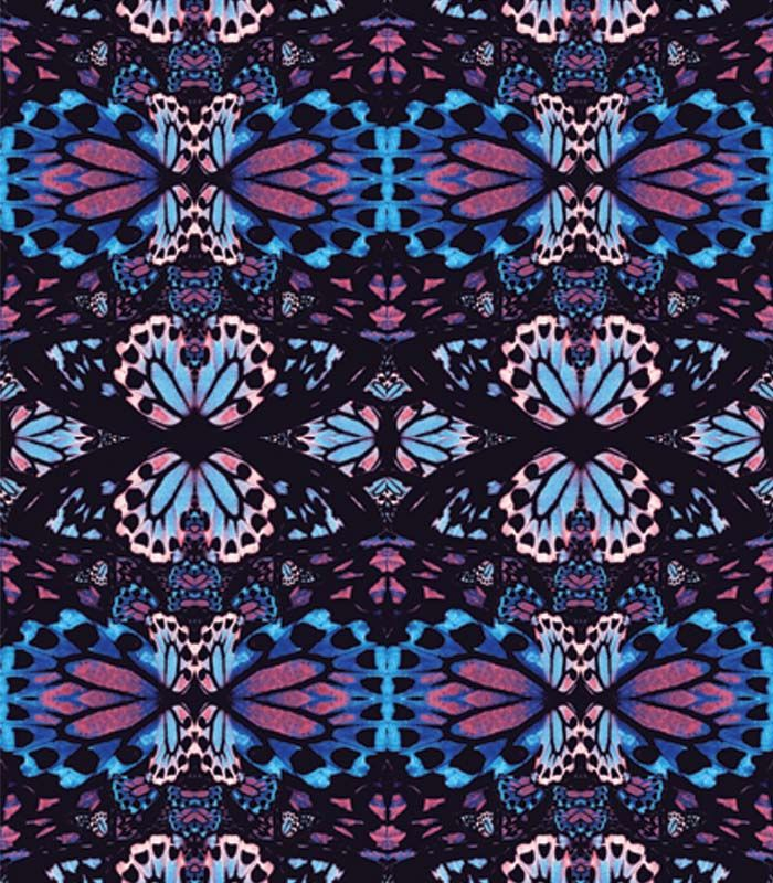 My inspiration was butterfly's wing and so, i make a composition from an exotic butterfly's wings.
