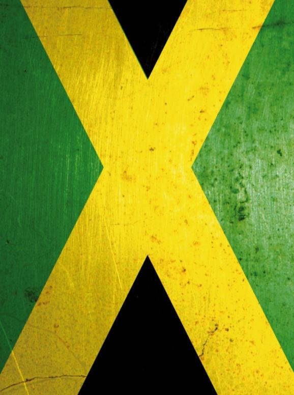 Bandera Jamaica  - Blackberry Torch 9800 9810