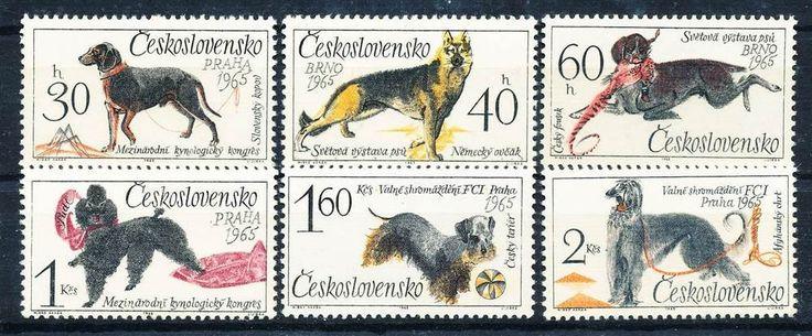 235102) Tschechoslowakei Nr.1542-7** Hunde