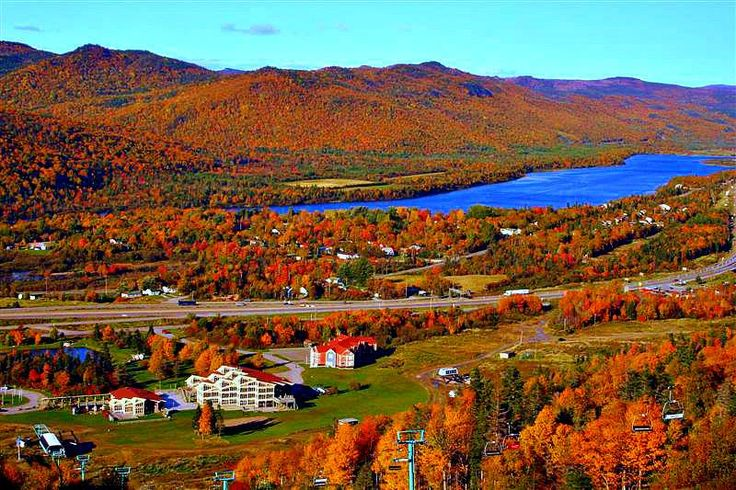The Humber River from the slopes of Marble Mountain near Corner Brook, Newfoundland by Keith Nicol
