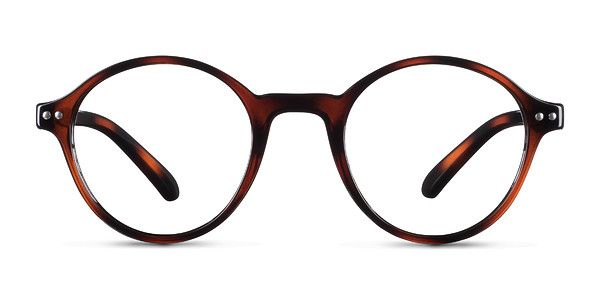 Classically chill, Little Mellow is a vintage inspired frame featuring a round shape, tortoiseshell finish, and double stud accents. @EyeBuyDirect