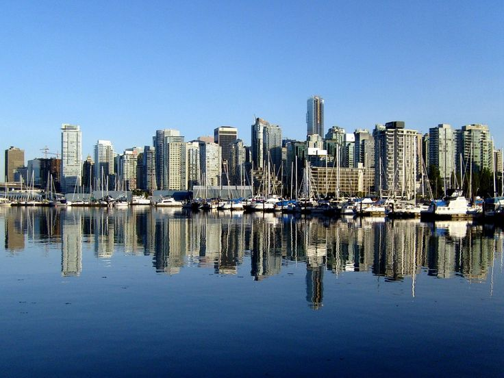 Beautiful Vancouver, BC #Vancouver #BC #Waterfront #City