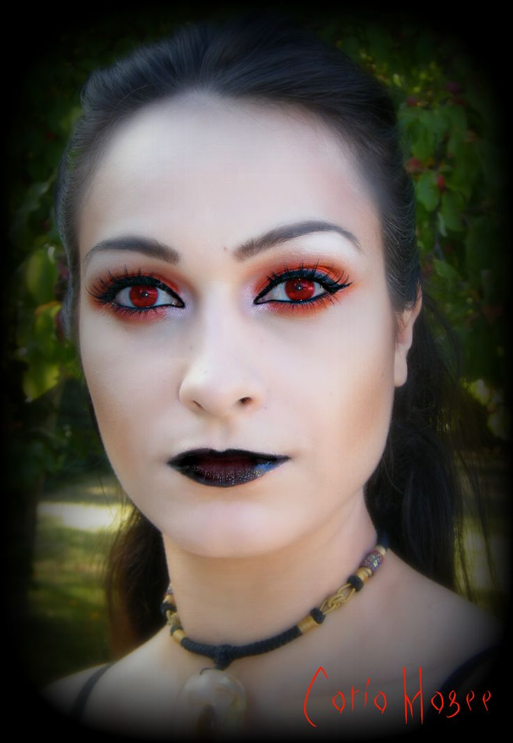 Halloween makeup possibly