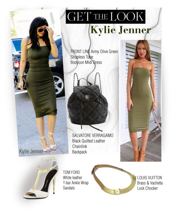 GET THE LOOK:Kylie Jenner by chocolate-addicted-angel on Polyvore featuring Salvatore Ferragamo and Louis Vuitton