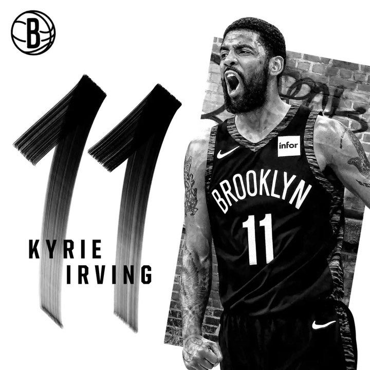 Brooklyn Nets On Instagram Speaks For Itself Brooklyn Nets Kyrie Irving Nba Quotes