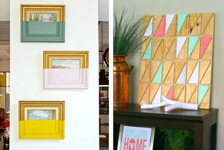 80 beste afbeeldingen van wanddeko stel veren en handwerk. Black Bedroom Furniture Sets. Home Design Ideas