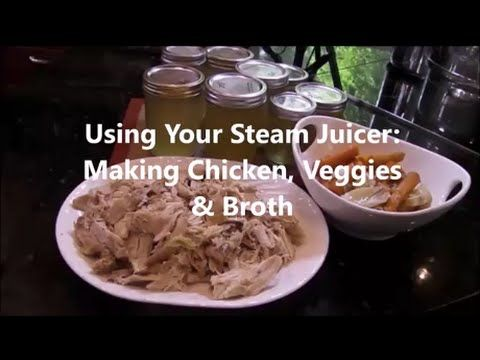 Cooking Chicken in a Steam Juicer - YouTube