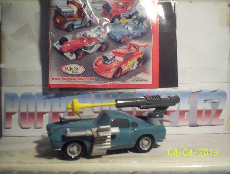 Kinder Maxi Cars Disney Serie TR 3 14 Cartine N°1 | eBay