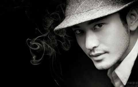 Chinese actor Huang Xiaoming on Men Style Harpers Bazaar magazine