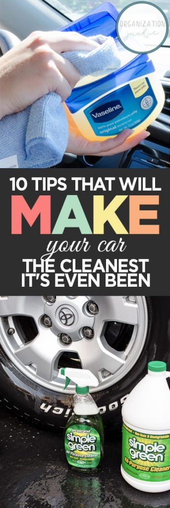 10 Tips That Will Make Your Car the Cleanest it's Ever Been