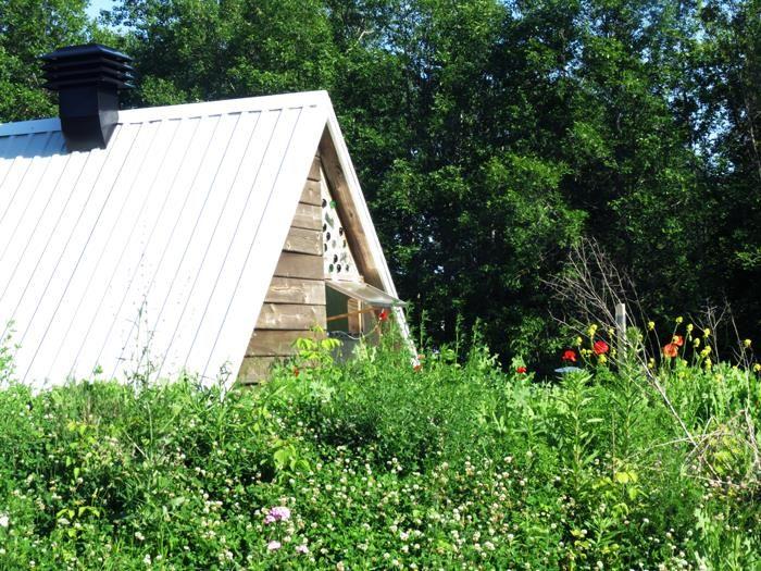 Farm of the future. Earthship Green house at Valhalla Montreal. #Urbanfarm #yrbangarden #gardening #greenhouse #sustainable #sustainabledesign #ecodesign #permaculture #montreal #sustainableeducation   Website:http://montreal.valhallamovement.com/