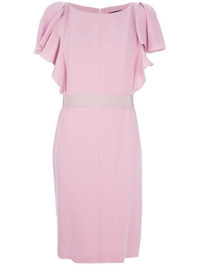 Pink silk dress from Max Mara