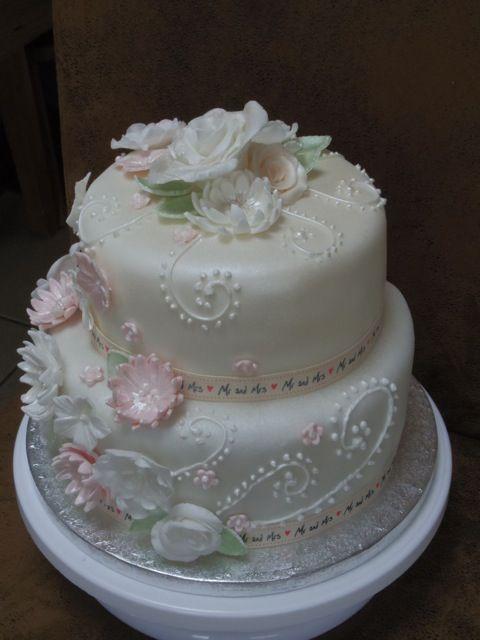 My new wedding cake creation