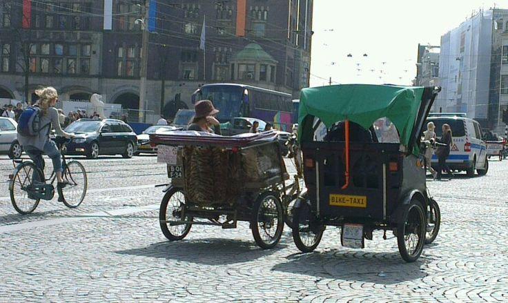 Dam Square, Amsterdam  The Netherlands.