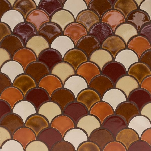 Moroccan Fish Scales By Mercury Mosaics Great Color Choices Too Tile Designs We