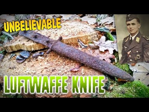YOU WON'T BELIEVE THIS! Luftwaffe assault knife opened after 70 years! - YouTube
