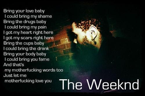 The weekend - wicked games lyrics