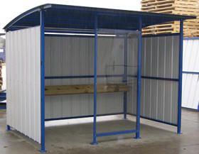 16 best smoking shelters images on pinterest animal for Outdoor storage shelter