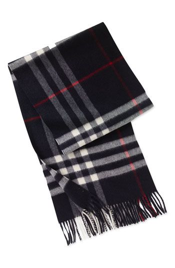 Burberry Giant Check Cashmere Scarf available at #Nordstrom