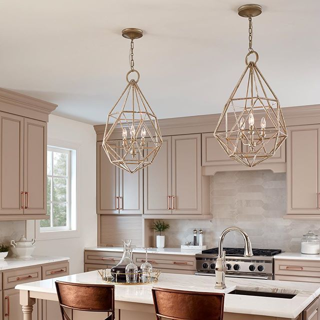 Casual Dining Room Chandeliers: This Chandelier Can Be As Glam Or As Casual As You Want It