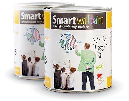 Whiteboard Wandfarbe, Projektor und Magnetfarbe   SmarterSurfaces