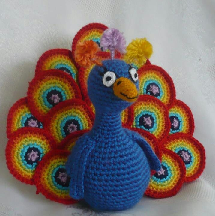 peacock (could change the colors to make it a turkey ...
